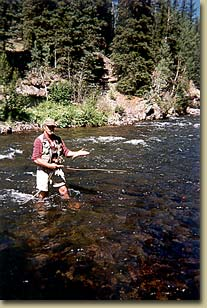 Fishing on the Conejos